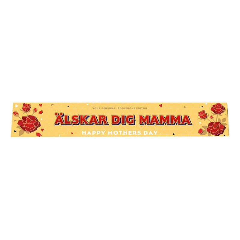 Toblerone Älskar Dig Mamma - 100 gram
