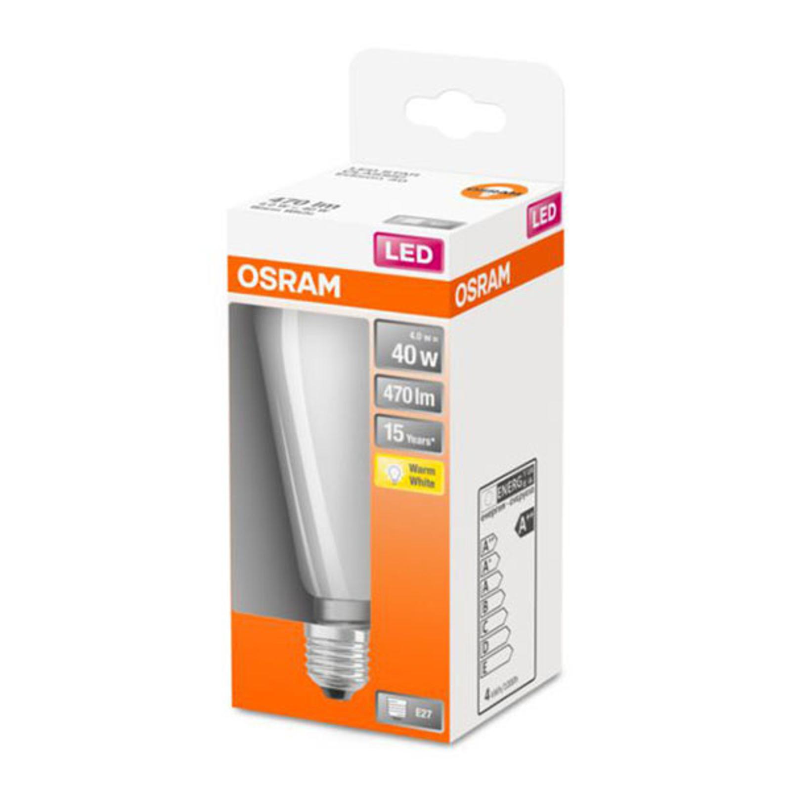 OSRAM Classic ST -LED-lamppu E27 4W 2 700 K opaali