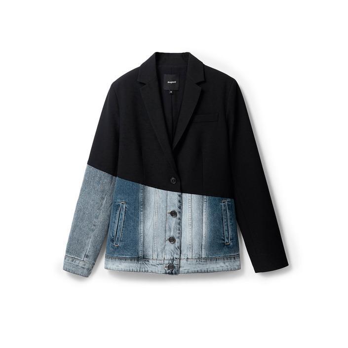 Desigual Women's Blazer Black 257301 - black 36