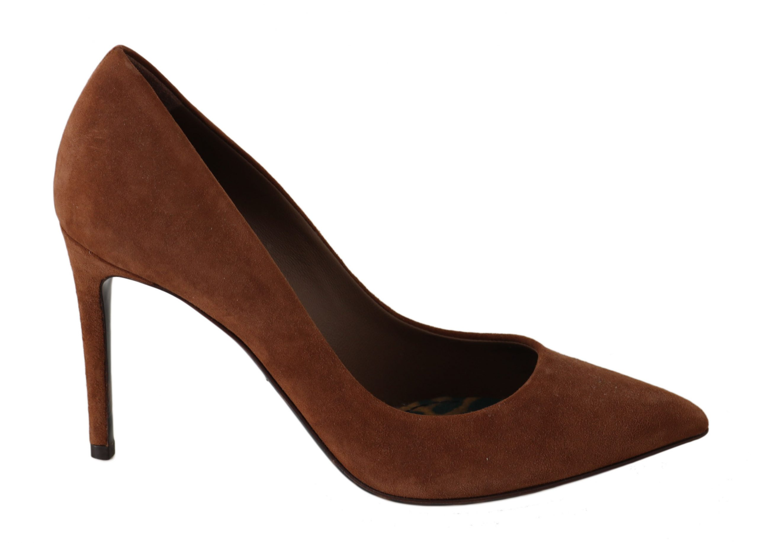 Dolce & Gabbana Women's Heels Shoes Brown LA5983 - EU35.5/US5