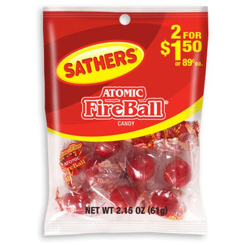 Sathers Atomic Fireballs 61g