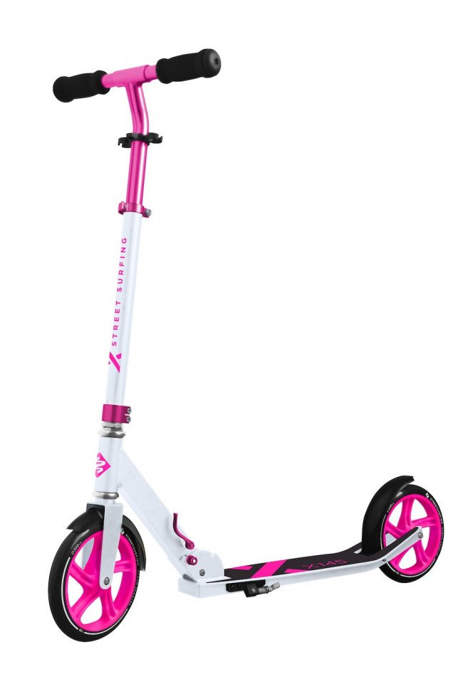 Streetsurfing - 200 Kick Scooter - Electro Pink (04-18-004-4)
