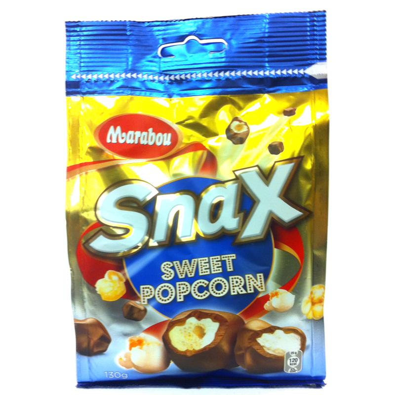 Snax Sweet Popcorn - 50% rabatt