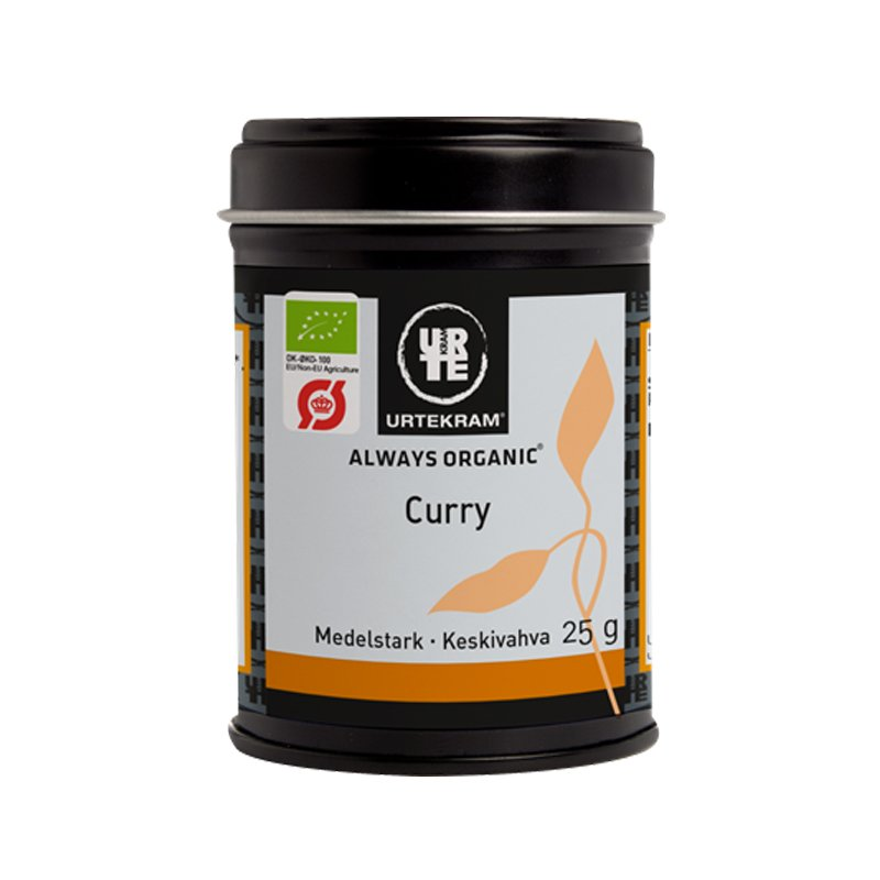 Keskivahva Curry 25g - 40% alennus