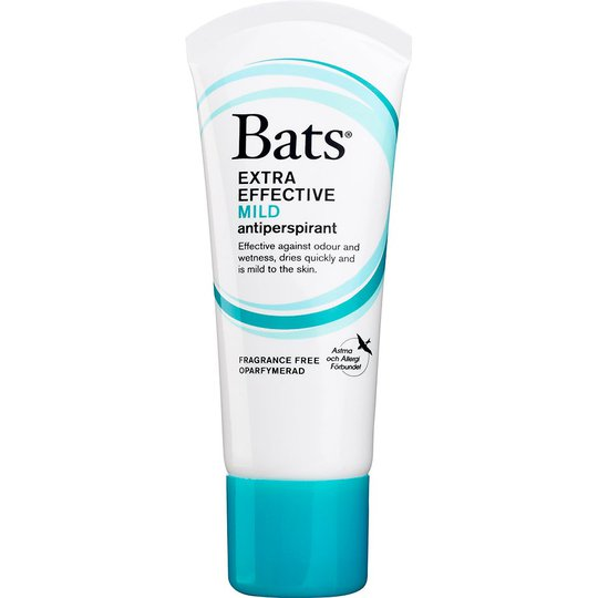 Extra Effective Mild Antiperspirant, 60 ml Bats Suihkeet