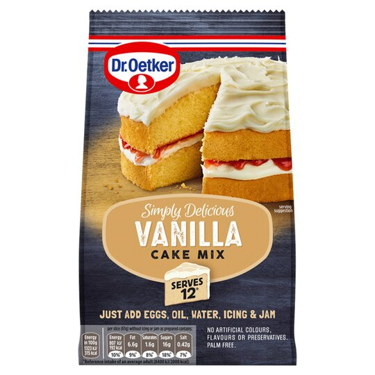 Dr oetker Simply Delicious Vanilla Cake Mix 420g