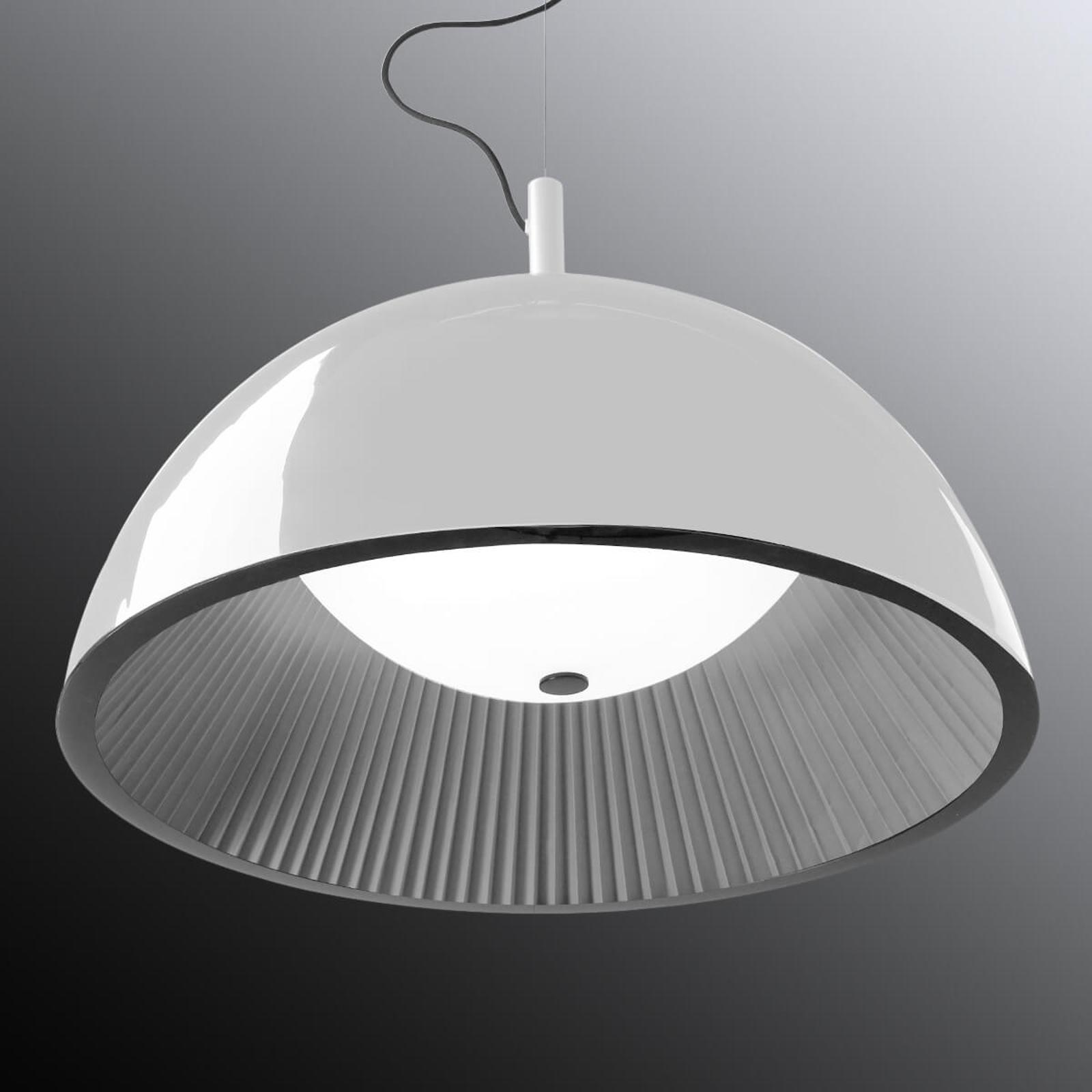 Grok Umbrella -riippuvalaisin, valkoinen Ø 100 cm