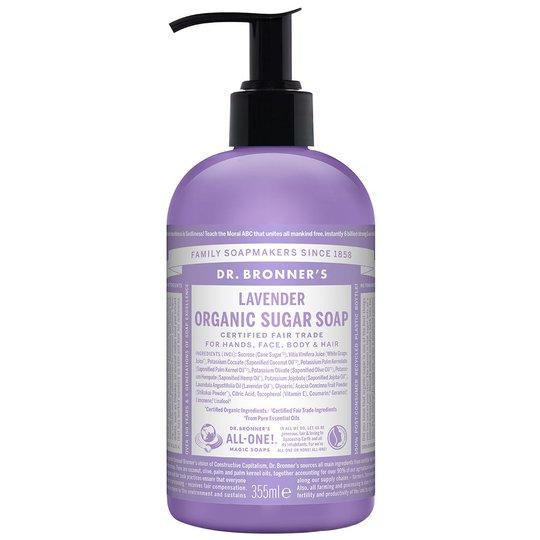 Organic Hand & Body Shikakai Soap Lavender, 355 ml Dr. Bronner's Luonnonkosmetiikka