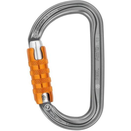 Petzl Am´D Triact autolock Sulkurengas Valkoinen/oranssi