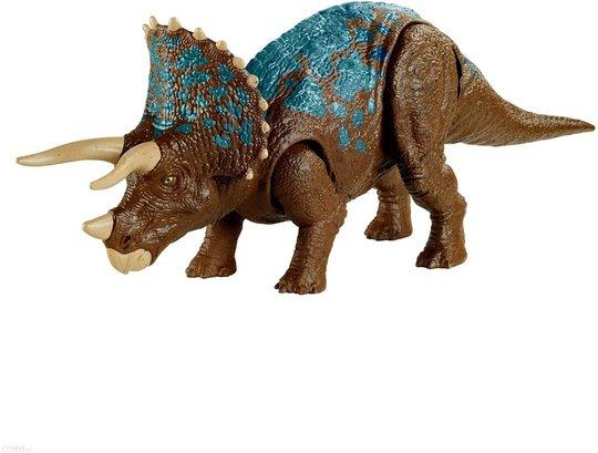 Jurassic World Camp Creataceous Figur Triceratops Primal Attack