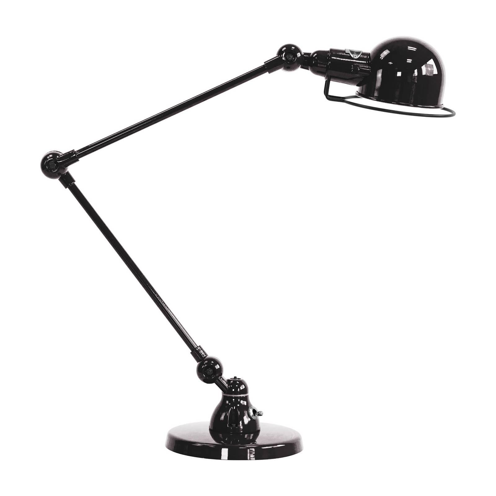 Jieldé Signal SI333-pöytälamppu, jalallinen, musta