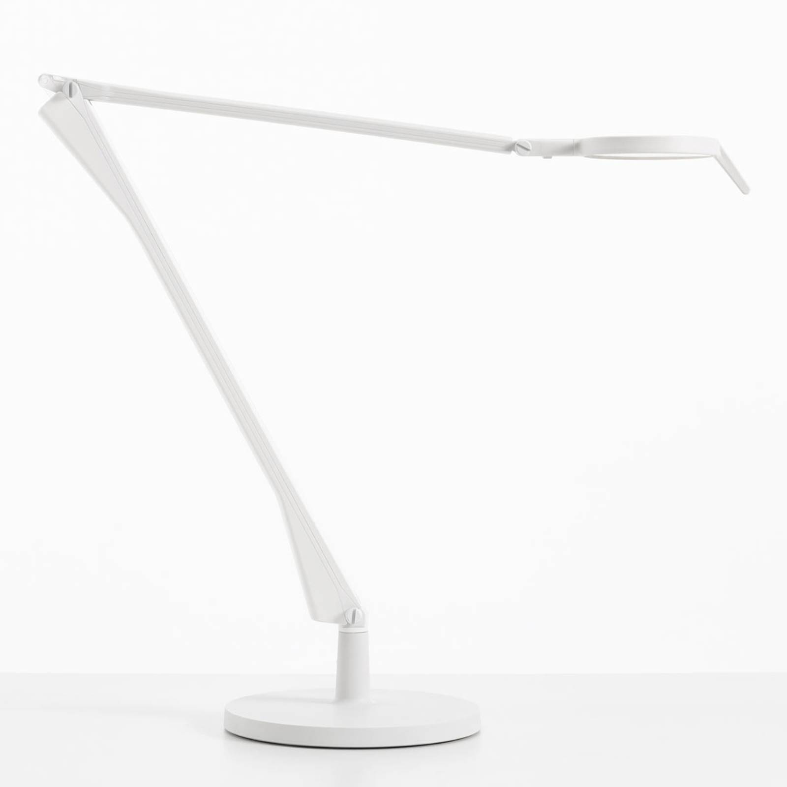Kartell Aledin Tec -LED-pöytälamppu valkoinen