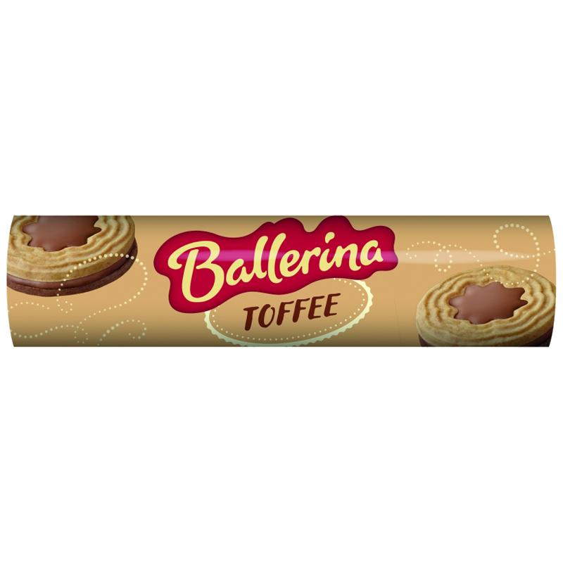 Ballerina Toffee 190g - 32% alennus