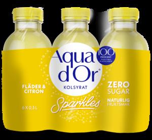 Aquador Fläder-Citron 30cl 6-pack