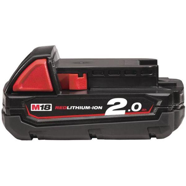 Milwaukee M18 B2 18V Li-Ion-batteri 2,0Ah