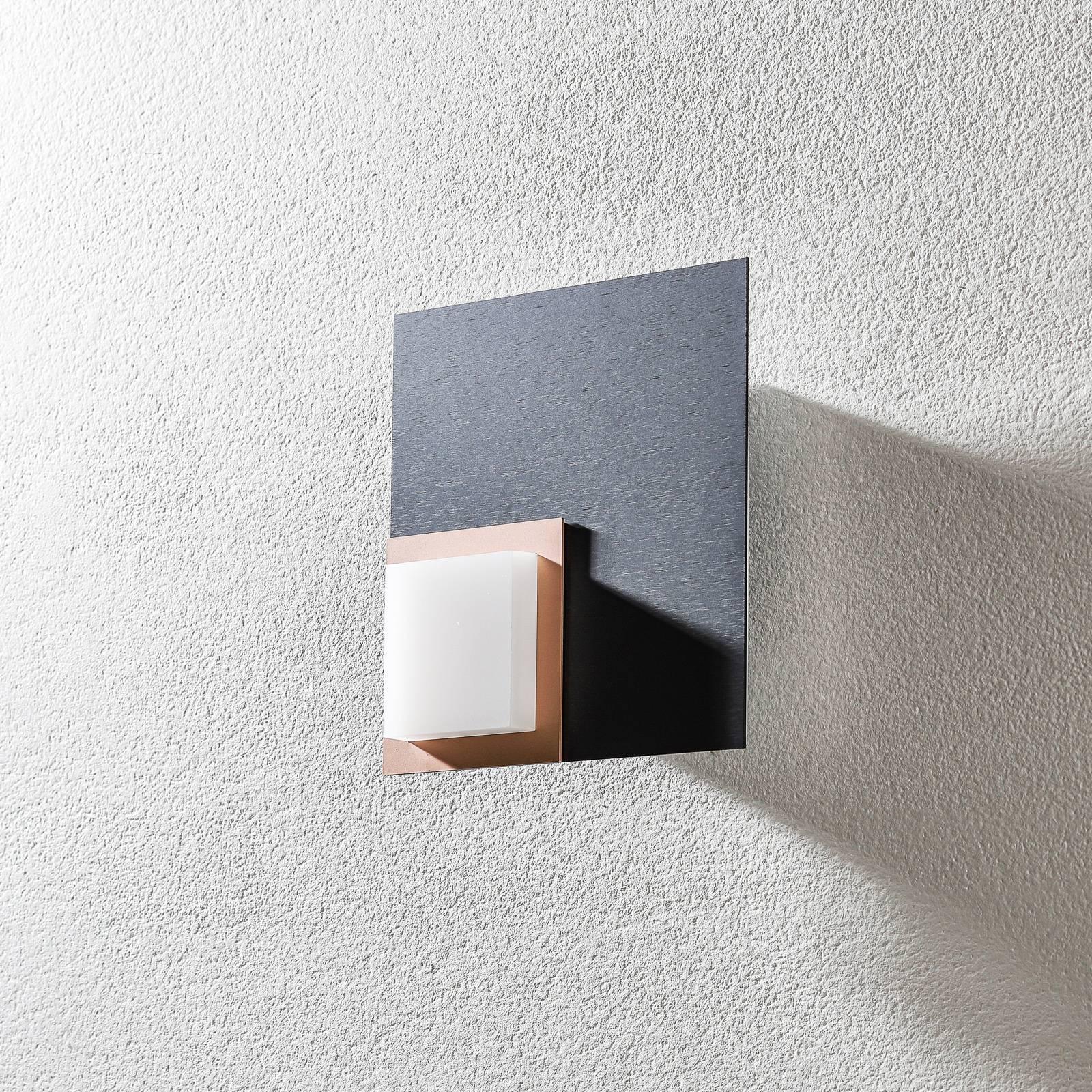BANKAMP Quadro LED-kattovalaisin 8W antrasiitti