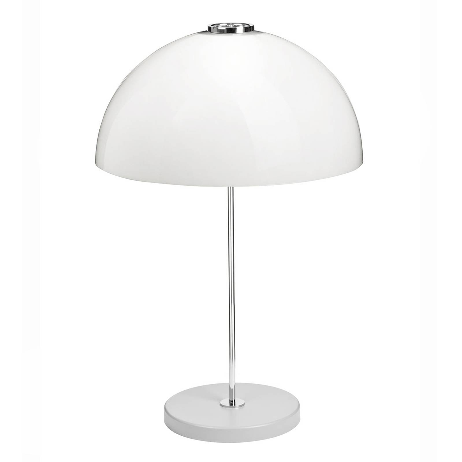 Innolux Kupoli bordlampe, grå fot