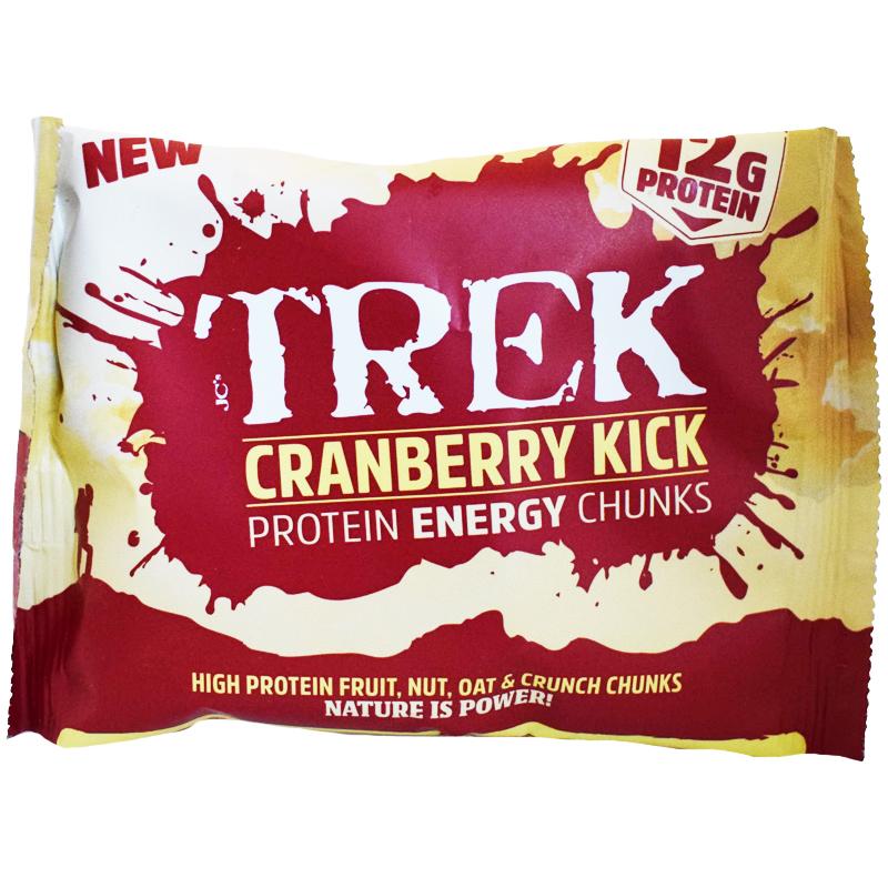 "Proteinbitar ""Cranberry Kick"" 60g - 52% rabatt"