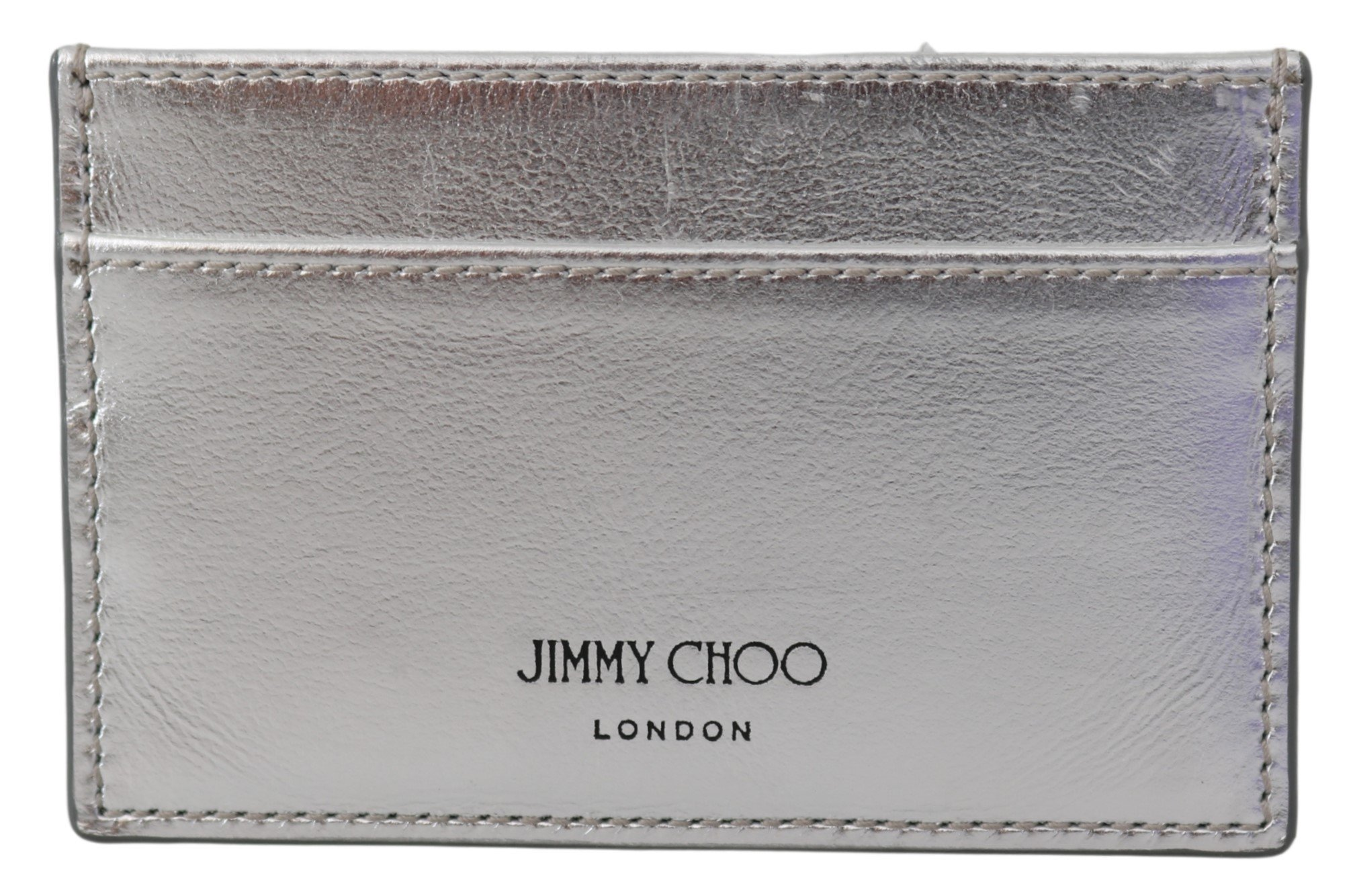 Jimmy Choo Women's Athini Card Holder SIlver 1435940