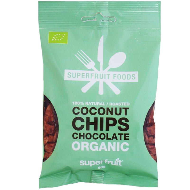 Luomu Kookossipsit Suklaa - 37% alennus