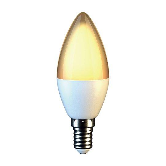 LED-kynttilälamppu E14 C37 7W 3 000 K opaali
