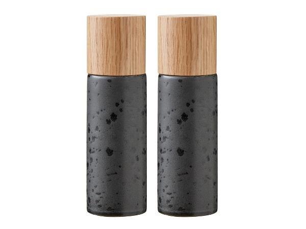 Bitz - Salt & Pepper Grinders Set - Black (821500)
