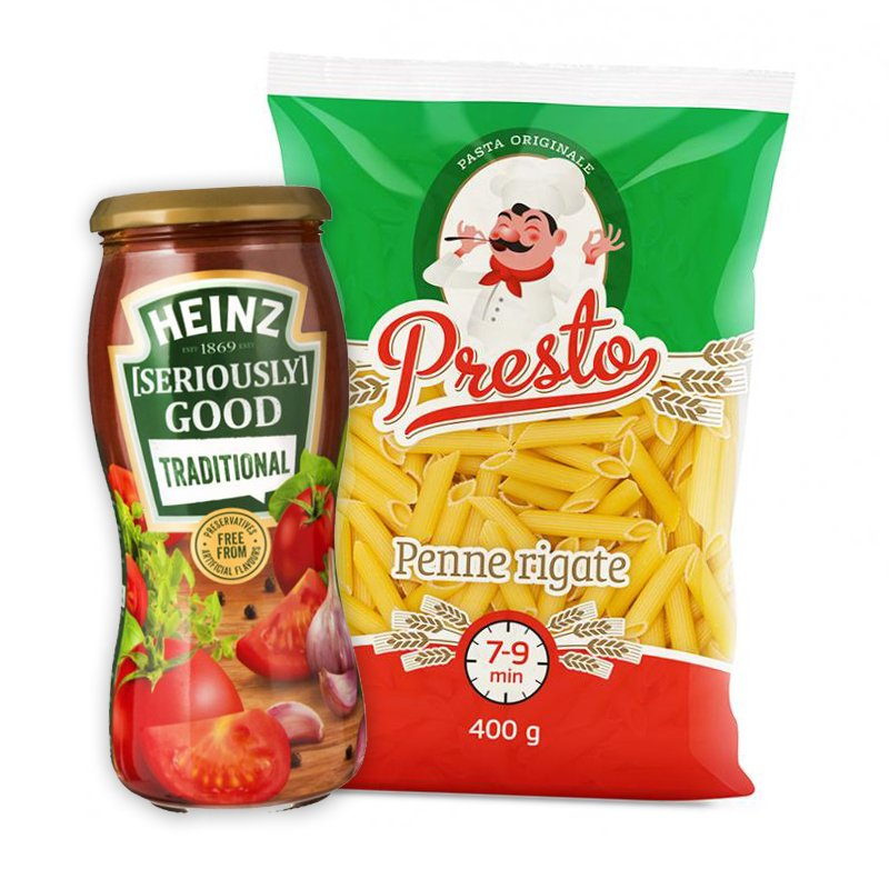 Pasta & Tomatsås - 51% rabatt