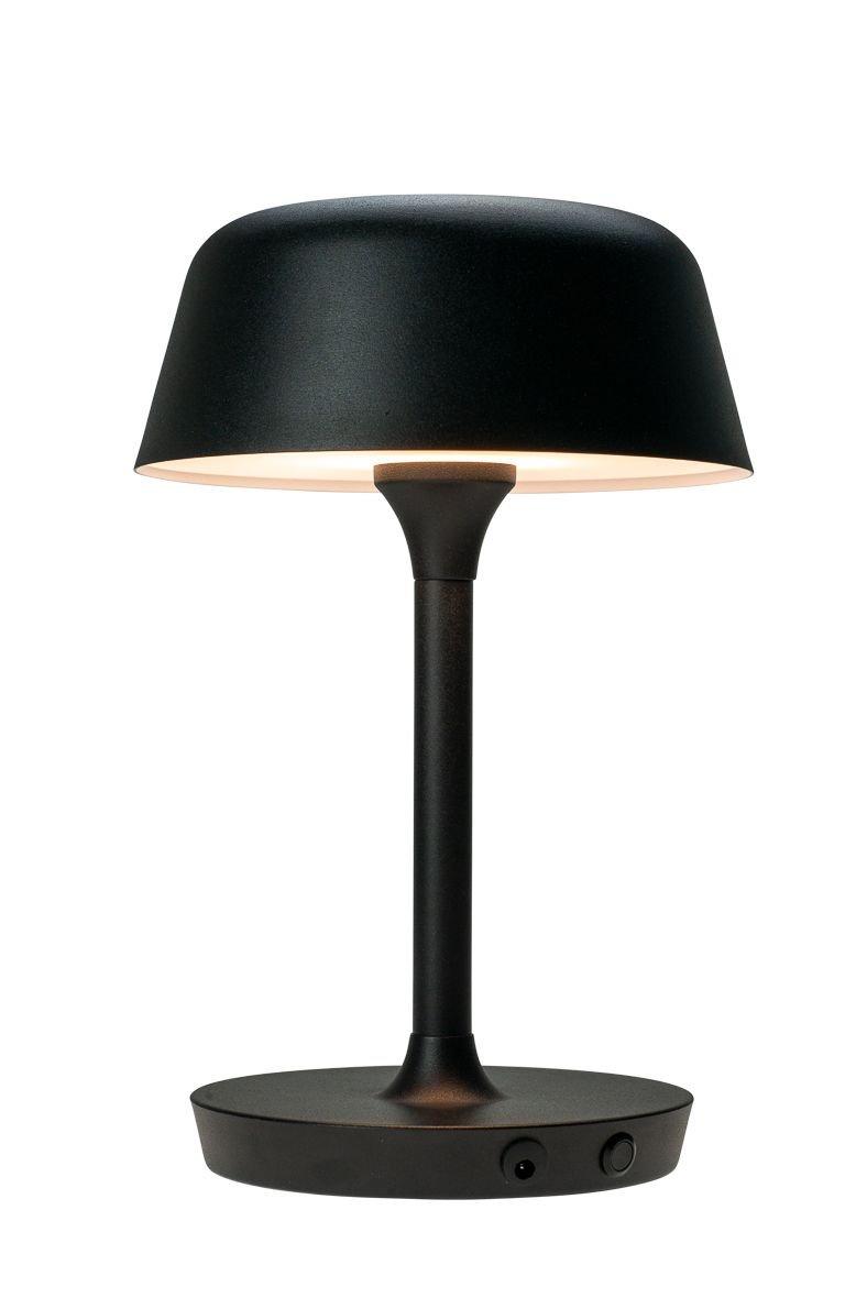 Dyberg-Larsen - Valencia LED Table Lamp Rechageable 350 LM - Black (7119)