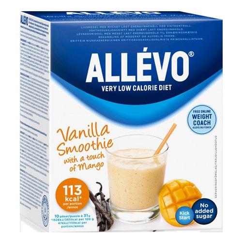 "Ateriankorvike-smoothie ""Vanilla Smoothie"" 10 x 31g - 33% alennus"