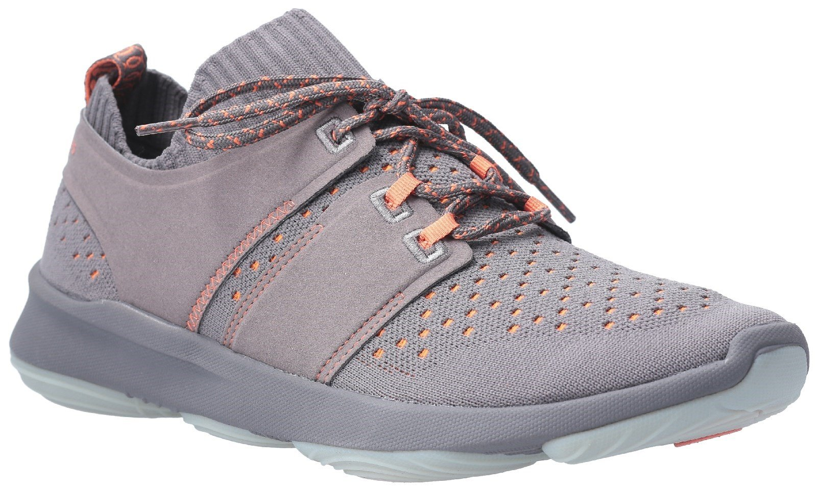 Hush Puppies Men's World BounceMax Lace Up Trainer Various Colours 28382 - Dark Grey 7