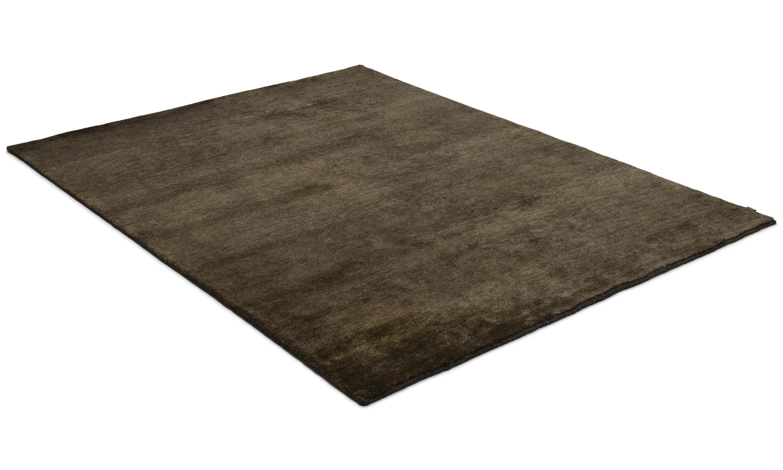 Nepali black - håndknyttet teppe