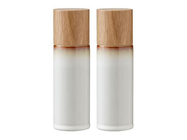 Bitz - Salt & Pepper Grinders Set - Creame (821502)