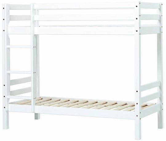 Hoppekids Basic Køyeseng 90x200, Hvit