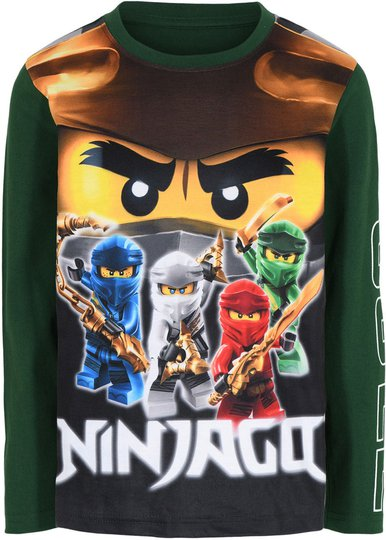 LEGO Collection T-shirt, Dark Green, 116