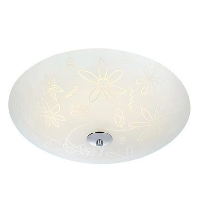 Fleur Plafond LED 43 cm White/Chrome