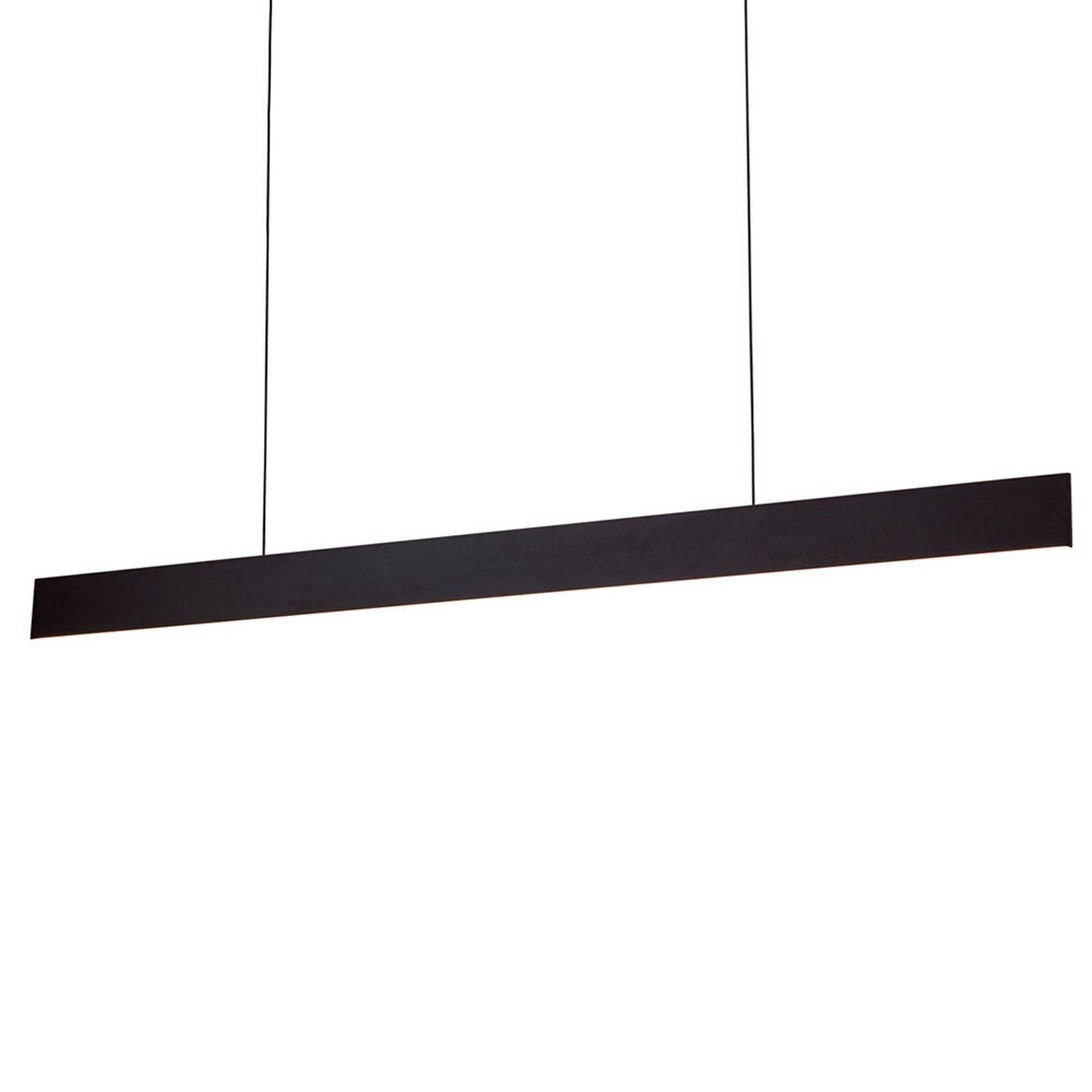 LED-hengelampe Gideon, up- & downlight, svart