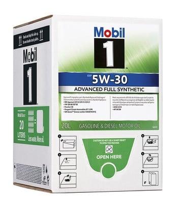 Moottoriöljy MOBIL 5W30 MOBIL 1 ESP 20L