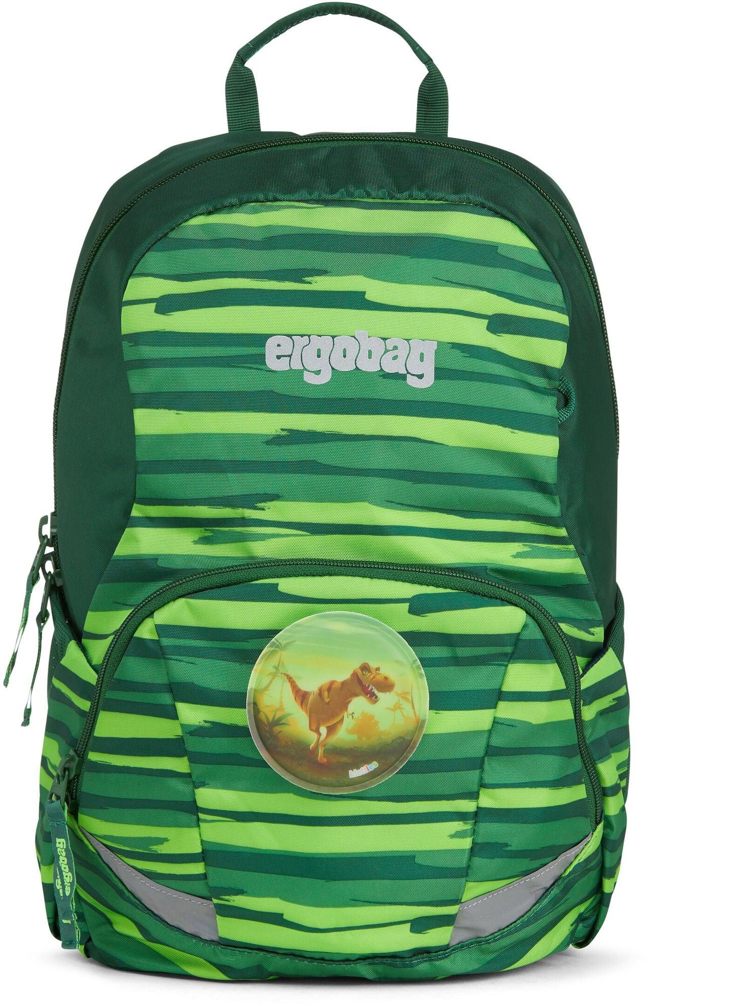 Ergobag Ease Jungle Ryggsäck 10L, Green Check