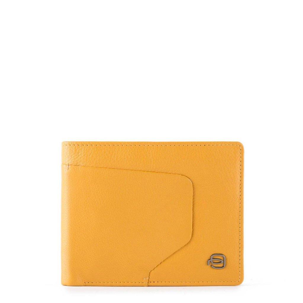 Piquadro Men's Wallet Various Colours PU4823AOR - yellow NOSIZE