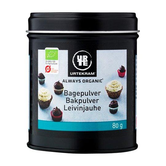 Urtekram Food Bakpulver, 80 g