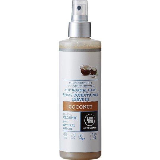 Coconut, 250 ml Urtekram Hiuksiinjätettävät hoitoaineet