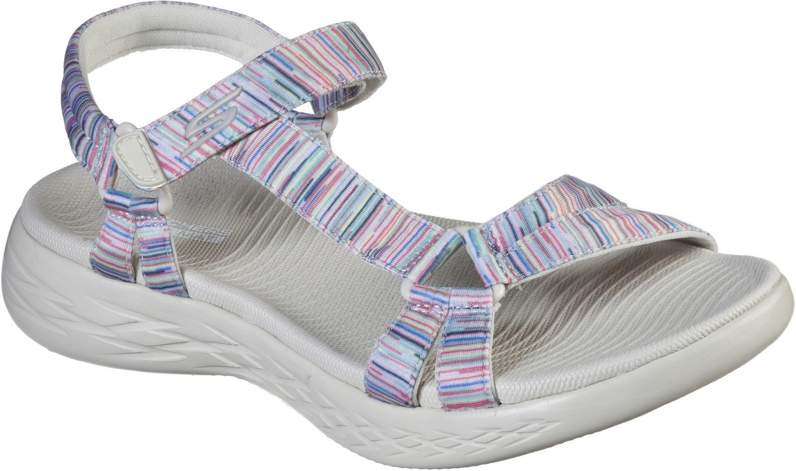 Skechers Women's On The Go Sandal Various Colours 30353 - Natural/Multicoloured 3
