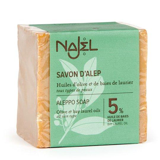 Najel Aleppotvål - 5-40% lagerbärsolja, 170-200 g