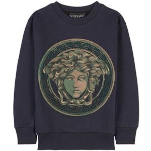 Versace Medusa Sweatshirt Marinblå 4 år
