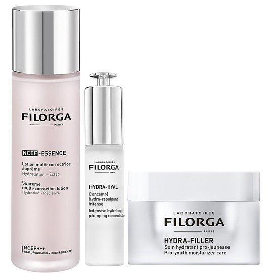 Hydrating Skin Care Routine, Filorga Ihonhoito