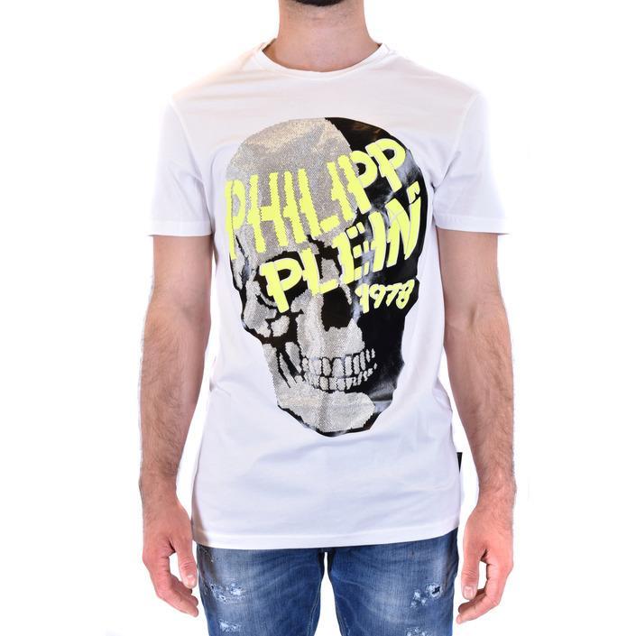 Philipp Plein Men's T-Shirt White 219585 - white M