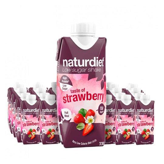 Måltidsersättning Shake Strawberry 24-pack - 28% rabatt