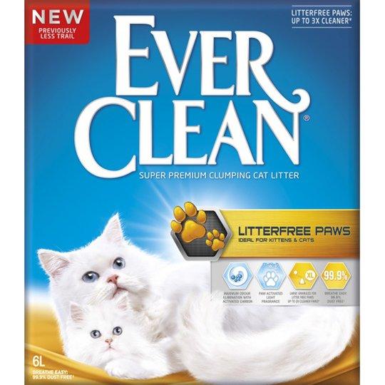 Ever Clean Litterfree Paws Kattsand (6 l)