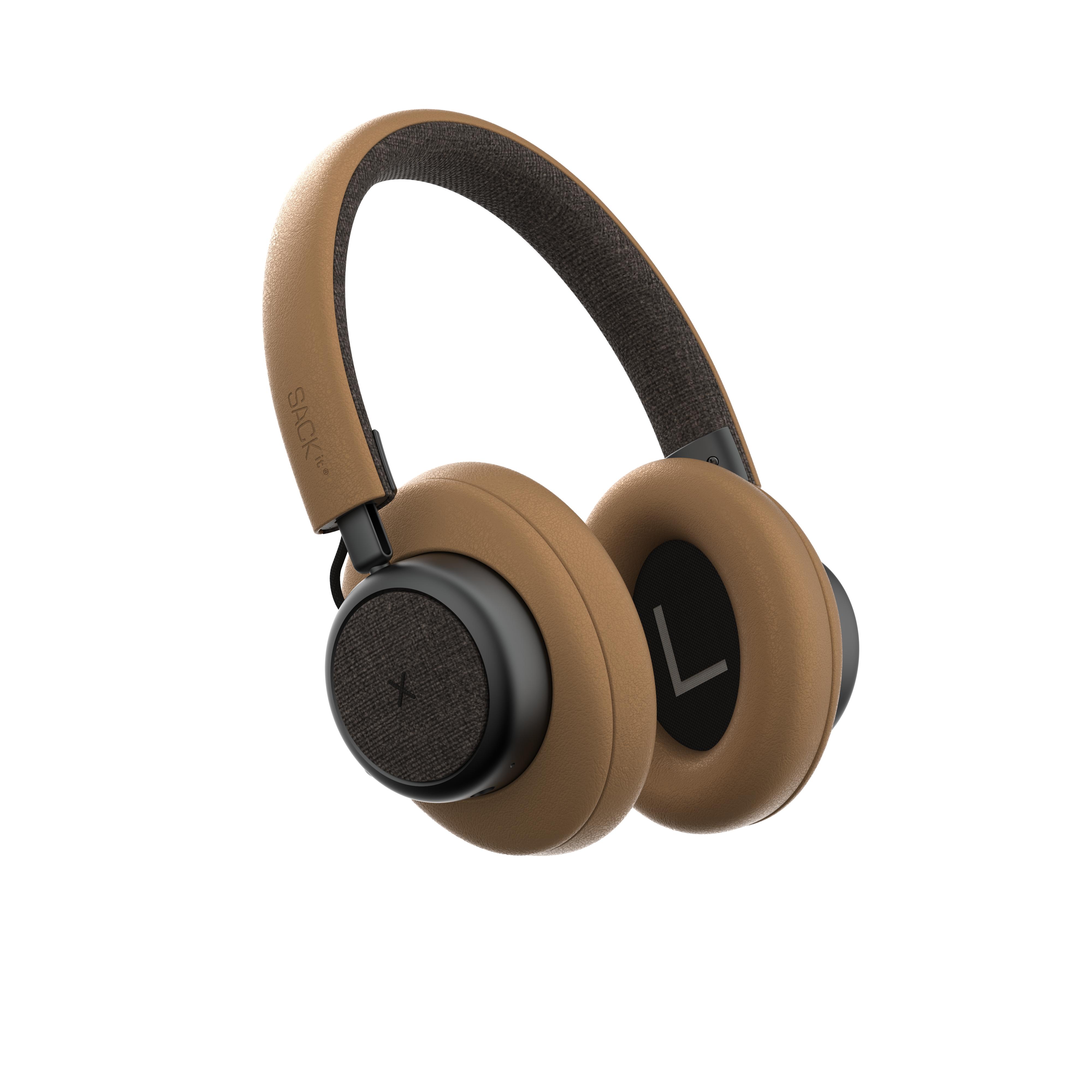 SACKit - TOUCHit Over-Ear Headphones - Golden