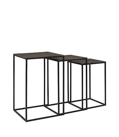 NOVA side table 3/S graphite